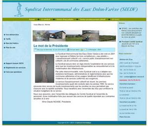 site-syndicat-des-eaux-dolon-vareze